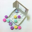 16 Cupcake Top Window Box w flexi hole ($3.70/pc x 25 units)