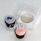 1 Cupcake Clear PVC Box($1.65/pc x 25 units)